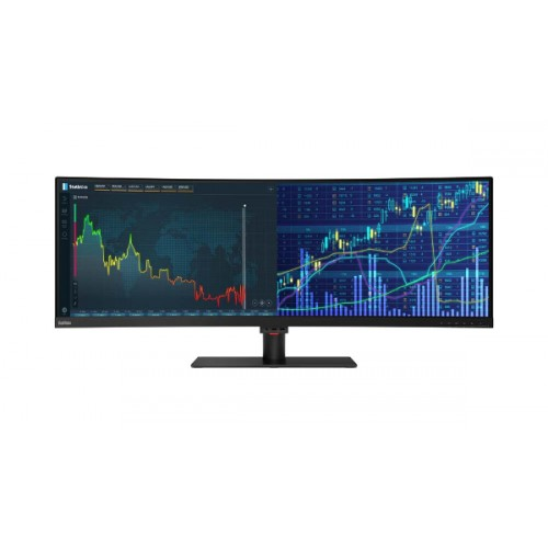 Lenovo ThinkVision P44w-10, LED 43.4'', 32:10, Curved HDR, H..