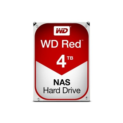 "Western Digital Red 4TB, 3,5"", 64MB, 5400 rpm NAS"