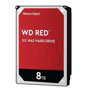 "Western Digital Red, 3.5"", 8TB, 256MB, 5400rpm"