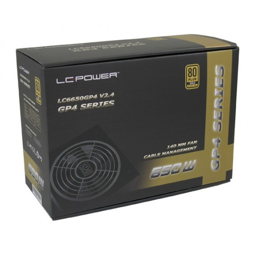 LC-Power GP4 650W, 80+ Gold, modularno napajanje