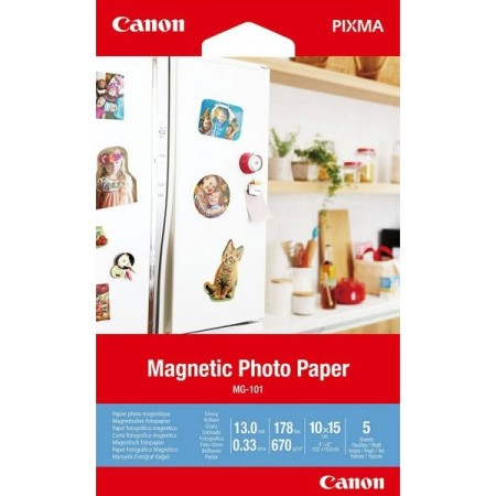 Canon Magnetic Photo Paper MG-101 10x15 - 5 L