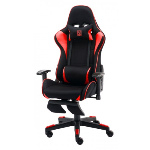 LC-Power LC-GC-702BR-FF, gaming stolica, crno - crvena