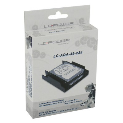 "LC-Power ramica 3.5"" na 2 x 2.5"""