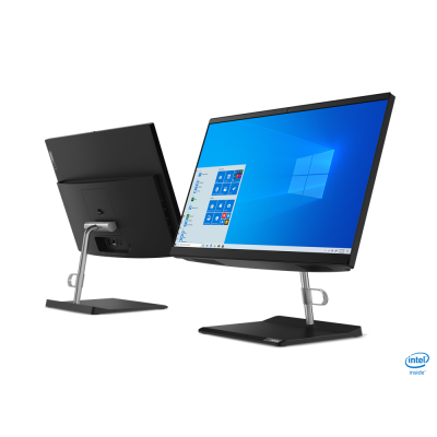 "Lenovo V50a-24IMB AIO, Intel Core i5-10400T, RAM 16GB, SSD 512GB, VGA Intel Ultra HD, LCD 23.8"" Full HD, Win10 Pro"